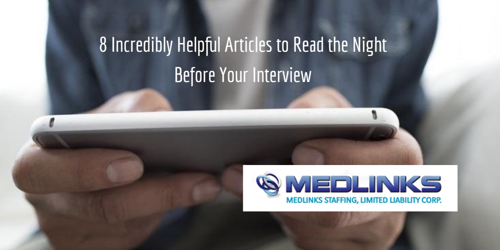 8 Incredibly Helpful Articles to Read the Night Before Your Interview