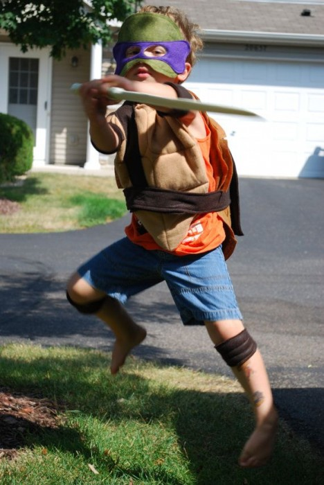 CHILD Teenage Mutant Ninja Turtle Costume