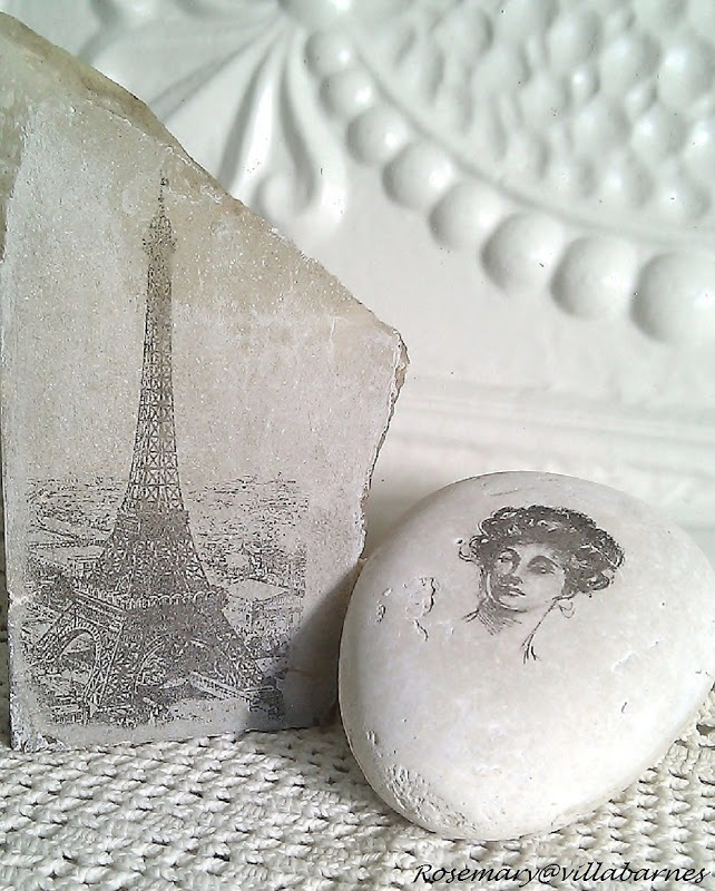 DIY How to Transfer an Image to a Rock