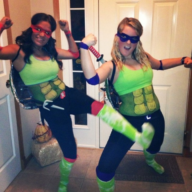 DIY Ninja Turtle Costumes
