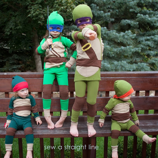 Ninja Turtle Costume Kids