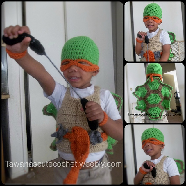 TMNT Costume Set pattern