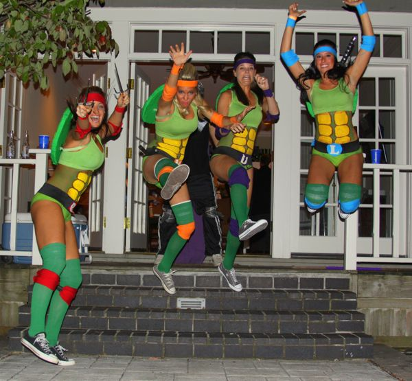 Teenage Mutant Ninja Turtles Group Costume