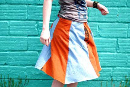 Two Shirt Skirt
