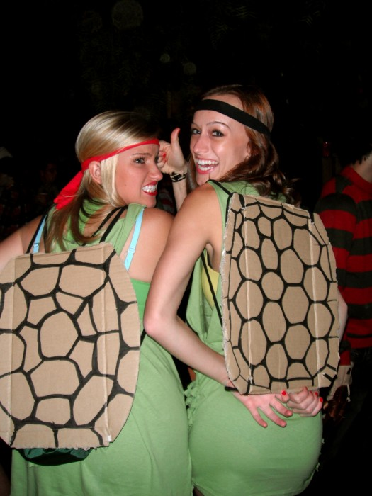 bad teenage mutant ninja turtle costume idea
