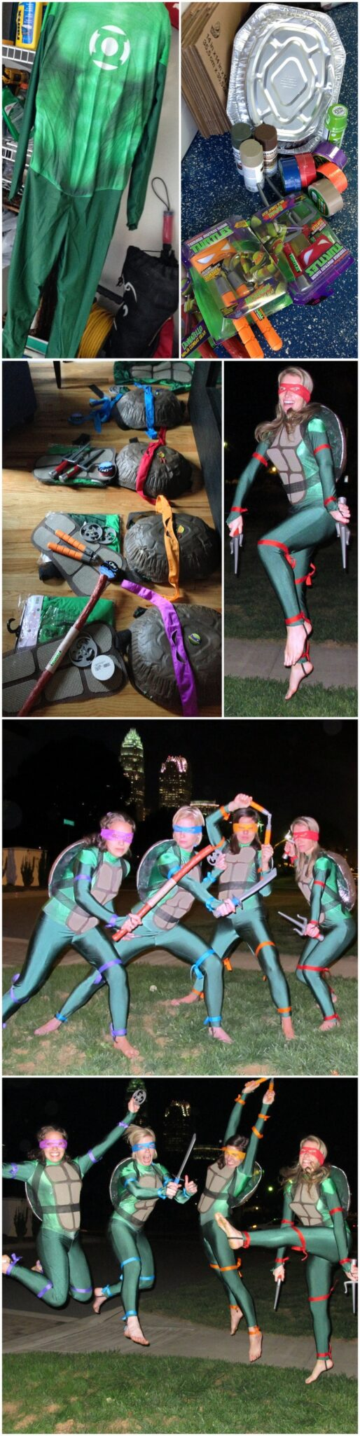 diy homemade tmnt costumes