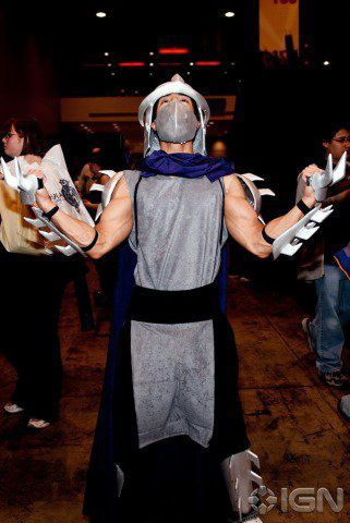 shredder cosplay costume
