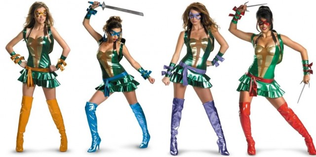 tmnt sexy costume not diy