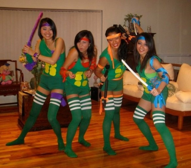 women TMNT Halloween costumes