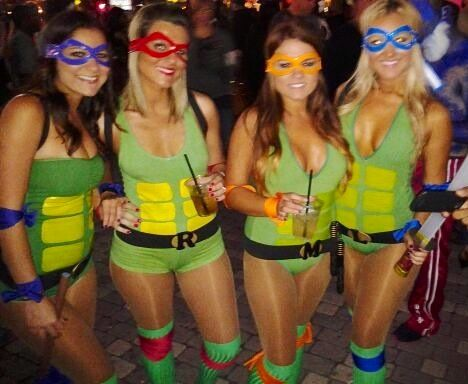 women ninja turtle costumes
