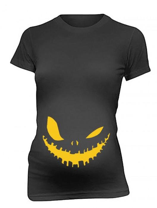Maternity T Shirts Scary Halloween T-Shirt