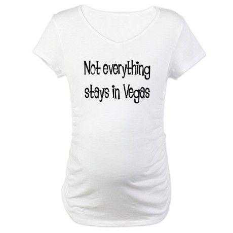 vegas maternity shirt