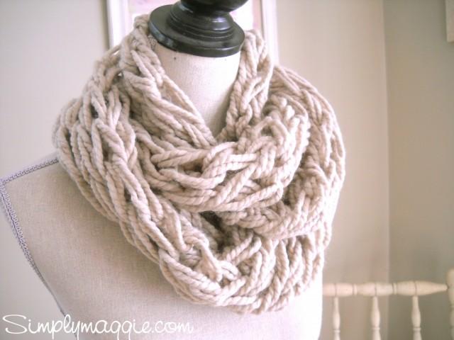Arm Knitting SimplyMaggie