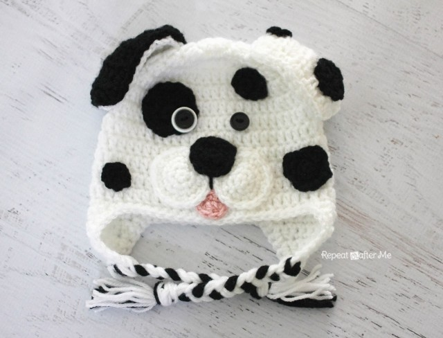 Crochet Dalmatian Dog Pattern Repeat Crafter Me