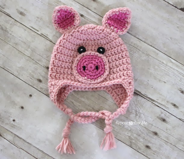 Crochet Pig Pattern Repeat Crafter Me