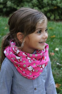 Infinity scarf kids and adults SweetestBugBows