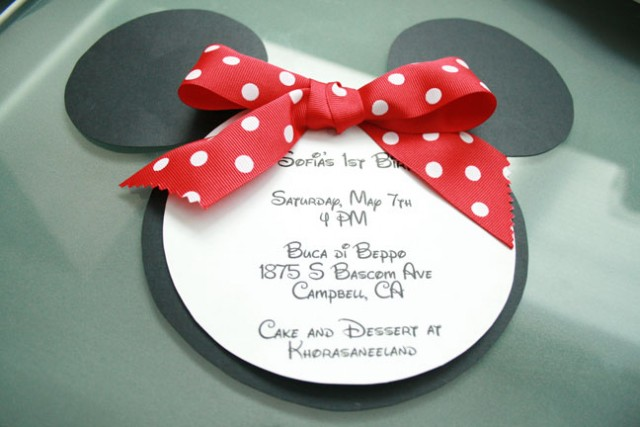 Minnie Mouse 1st bday party lil miss