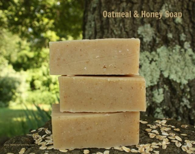 Oatmeal-and-Honey-Soap-1024x807   thenerdyfarmwife