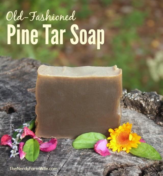 Old-Fashioned-Pine-Tar-Soap-800  thenerdyfarmwife