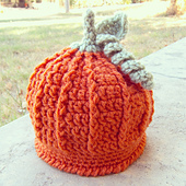 Pumpkin Harvest Hat by Ravelry