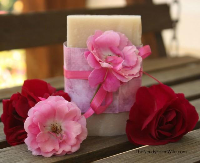 Rosa-Rugosa-Handmade-Soap-Recipe  thenerdyfarmwife