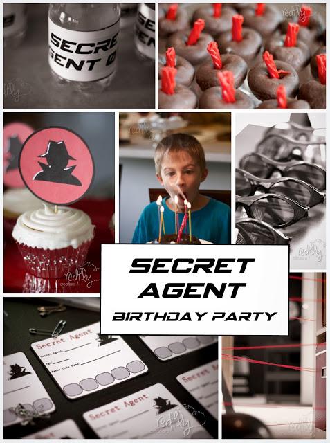 Secret Agent collage redflycreations