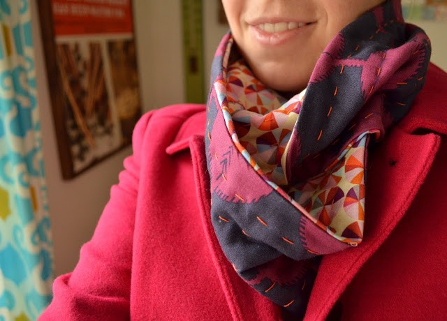 The Fat Quarter Infinity Scarf SewHomeGrown