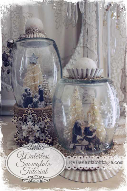 Waterless Snowglobe Tutorial 1