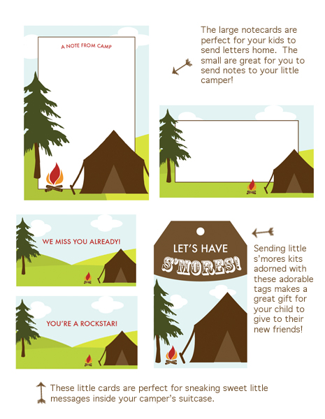 camping invitations asweetspothome