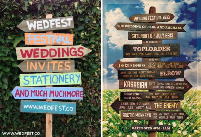 festival-wedding-vintage-wooden-sign