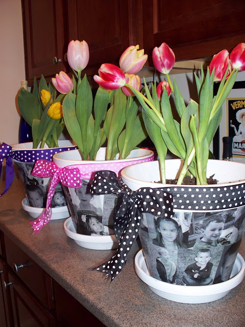 Teacher Appreciation – Photo Flower Pot
