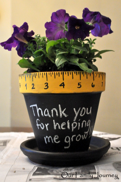 Teacher Thank You Flowerpot