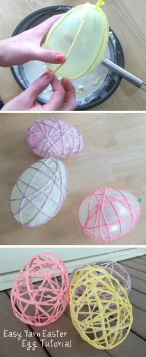 Yarn-Easter-Egg-Tutorial-Easter-Crafts