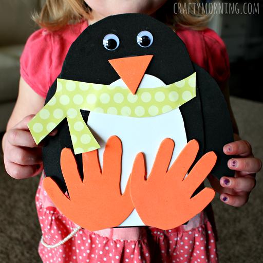 handprint-penguin-winter-craft-for-kids
