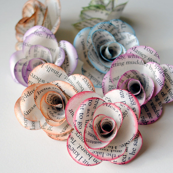 Book-Paper-Flowers