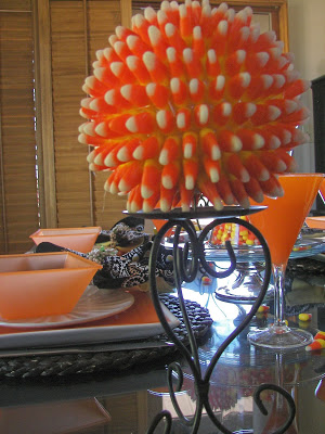 Candy Corn sphere