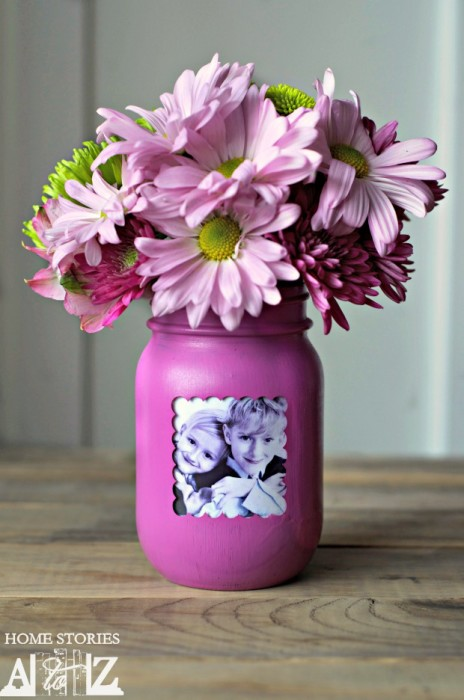How-to-make-a-mason-jar-vase-and-frame