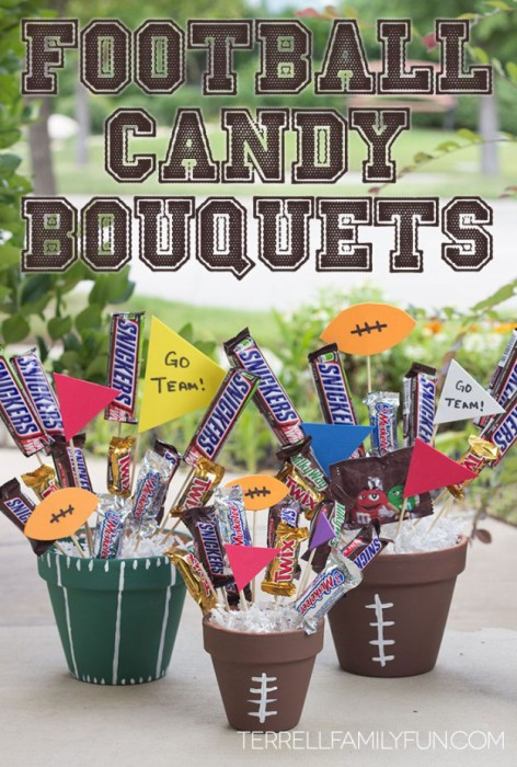 diy-football-candy-bouquets