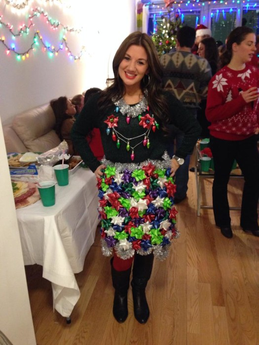 Bows Ugly Christmas Sweater