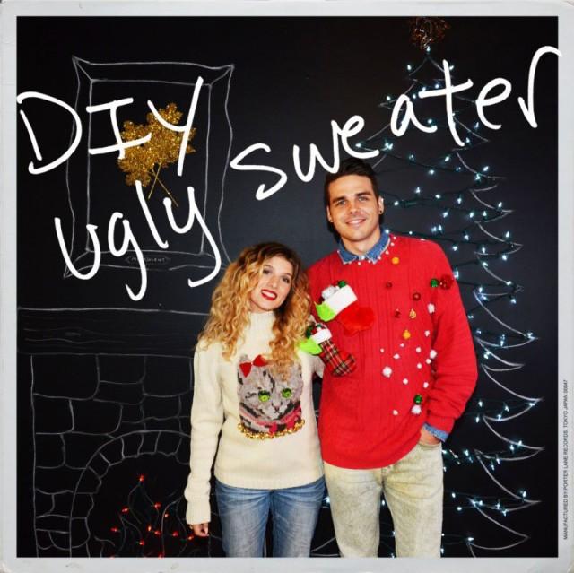 DIY Xmas Sweater