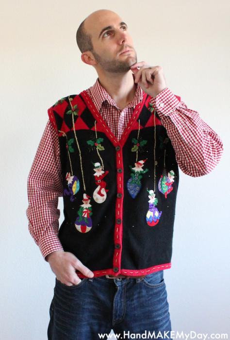Elf Ornament Vest