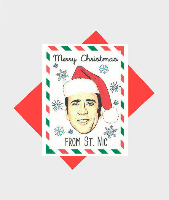 Merry Christmas Card from St Nic