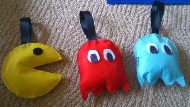 No Sew Stuffed Pac Man Toy