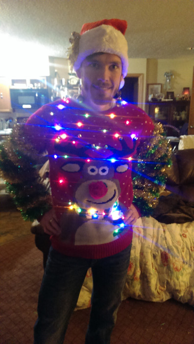 Rudolph Ugly Christmas Sweater