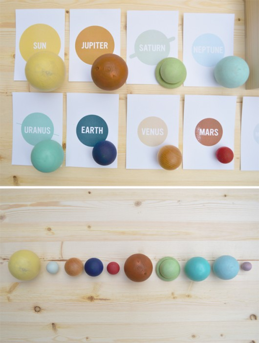 Handmade Solar System