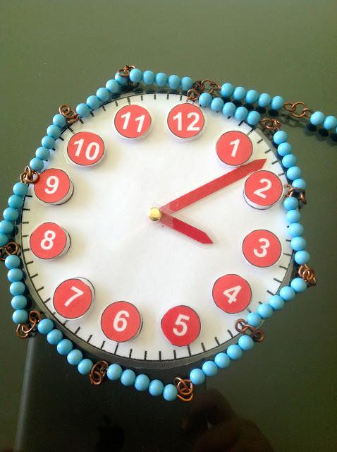 Telling Time Analog Clock