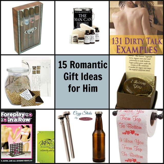 15 romantic gift ideas for him