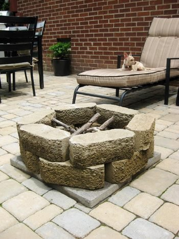 How to Build a Backyard Fire Pit for 28