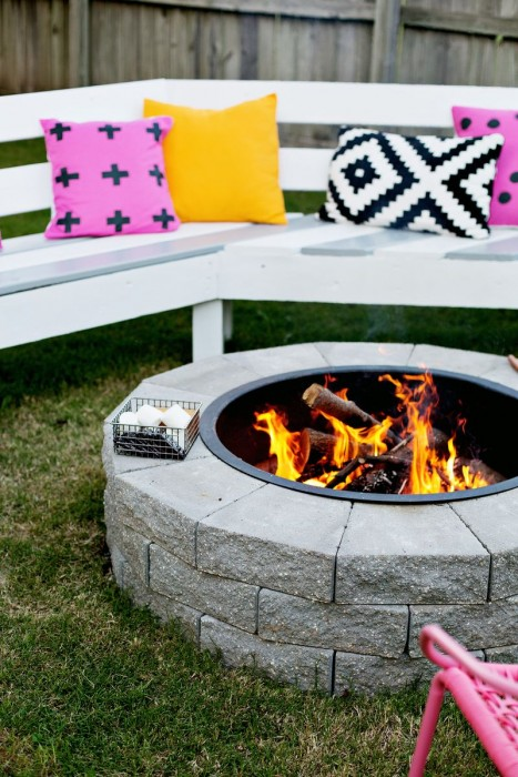 Make Your Own Fire Pit in 4 Easy Steps