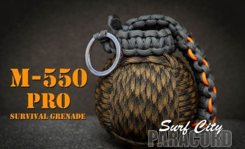 Paracord Survival Grenade from InventorsSpot
